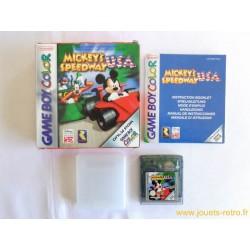 Mickey's Speedway USA - Jeu Game Boy Color