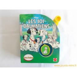 """Livre parlant """"Les 101 Dalmatiens"""" Mattel 1994"""