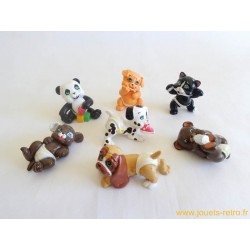 """Magic Babies"" les bébés animaux lot de 7 figurines"