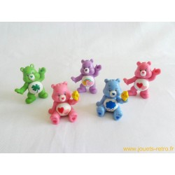 Lot de 5 figurines Les Bisounours