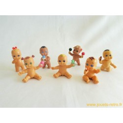 Lot de 7 figurines Babies Paciocchini