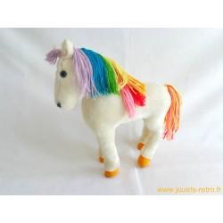 Peluche cheval Starlite Rainbow Brite Mattel 1983