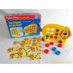 Tactique et puces jeu Fisher Price 1998
