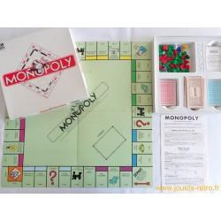 Monopoly - Jeu Parker 1985