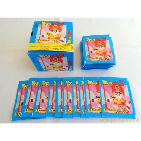 Pochette stickers Panini Dragon Ball Z 1991