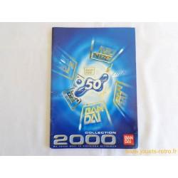 Catalogue Bandai 2000