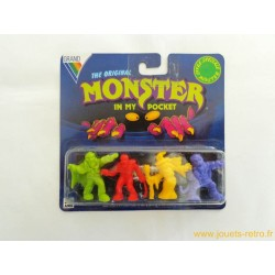"""Monster in my pocket"" blister 4 figurines NEUF"