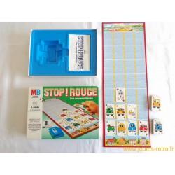 Stop ! Rouge - jeu MB 1985