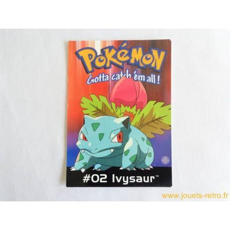 Carte postale Pokemon 02 Ivysaur
