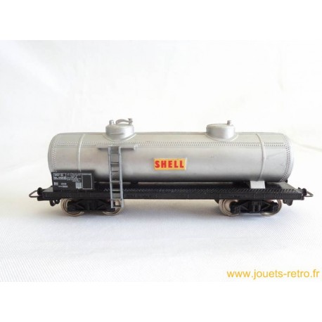 Wagon citerne Shell Jouef
