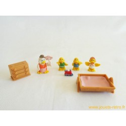 Set famille canards Mini Sweety