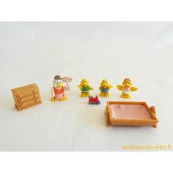 Set famille canards Mini Sweety