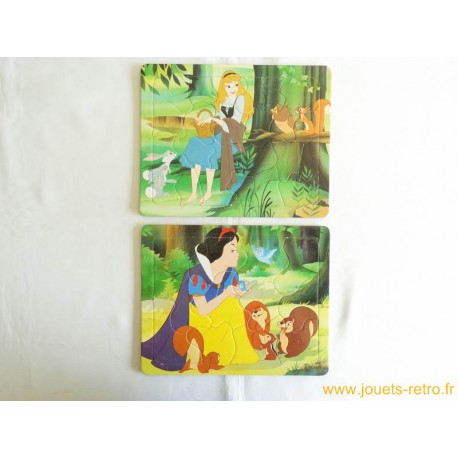 Lot de 2 puzzles Disney Nathan 1994