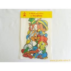 Silhouettes cartonnés Disney Pinocchio
