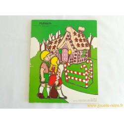 Hansel et Gretel Puzzle Playskool