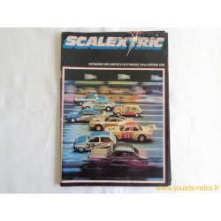 Catalogue jouets Scalextric 1982