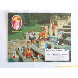 Catalogue jouets Mamanbébé 1967