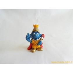"""figurines Schtroumpfs """"empereur"""" schleich Peyo 1978"""