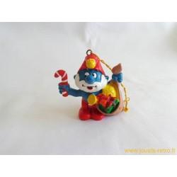 """figurines Schtroumpfs """"Père Noël"""" schleich Peyo 1981"""