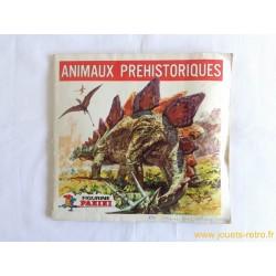 """Album Panini """"Animaux préhistoriques"""" 1977"""