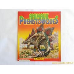 """Album Panini """"Animaux préhistoriques"""" 1992"""