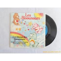 Les bisous des Bisounours - 45T disque vinyle