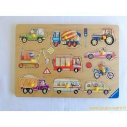 """Puzzle en bois """"véhicules"""" - Ravensburger"""