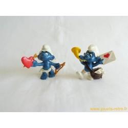 Lot figurines Schtroumpfs schleich Peyo