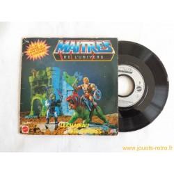 Maitres de l'univers: le chateau des ombres - 45T Livre disque vinyle