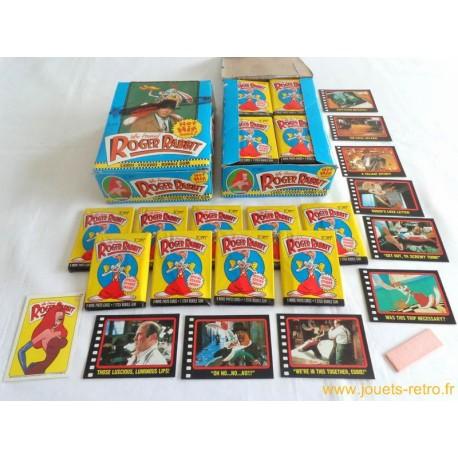 1 paquet de cartes Roger Rabbit Topps 1988