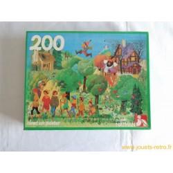 """""""Le petit poucet"""" puzzle Nathan 1981"""