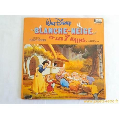 Blanche Neige Et Les 7 Nains Livre Disque 33 T Jouets Retro Jeux De Societe Jeux Video Livres Objets Vintage