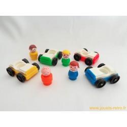 Les petites autos Fisher Price set complet