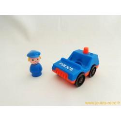 La voiture de police Fisher Price