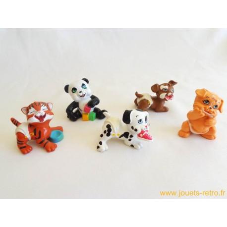 """""""Magic Babies"""" les bébés animaux lot de 5 figurines"""