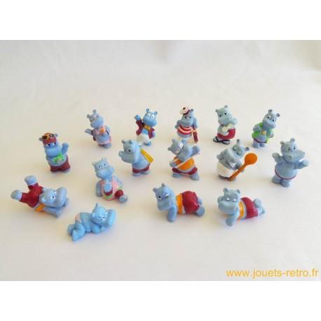"""lot figurines Kinder """"Hippos"""""""
