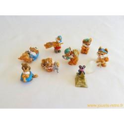 """lot figurines Kinder """"Egyptochats"""""""