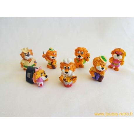 """lot figurines Kinder """"Leoventuras"""""""