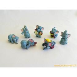 "lot figurines Kinder ""éléphants"""