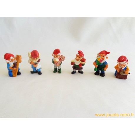 "lot figurines Kinder ""lutins"""