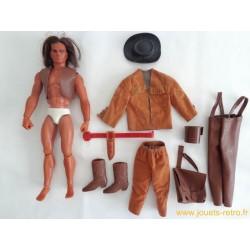 Big Jim Indien Winnetou et accessoires