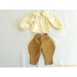 Ensemble vêtement de poupée