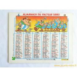 Almanach du facteur 1990 Astérix