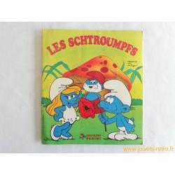 """Les Schtroumpfs"" album panini 1983"