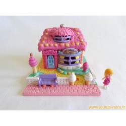 Ice Cream Parlor Le Glacier Polly Pocket 1995