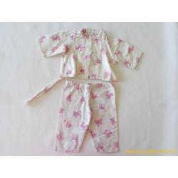 Ensemble pyjama de poupée ancien