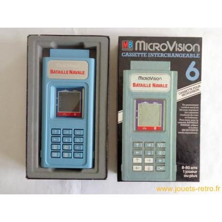 """""""Bataille Navale"""" jeu électronique MB MicroVision 1979"""