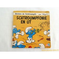 Schtroumpfonie en ut - Livre disque 45T