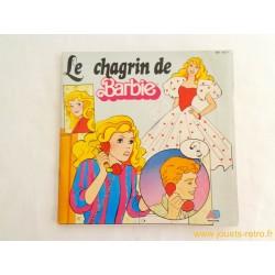 Le chagrin de Barbie - Livre Disque 45T