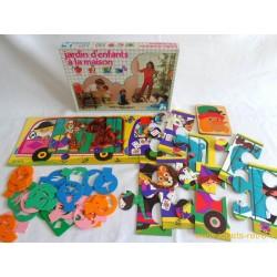 Jardin d'enfants à la maison Jeu Nathan 1981